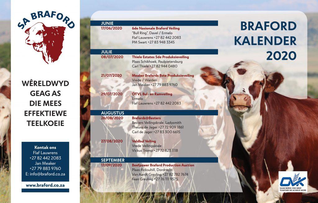 Braford Auctions 2020